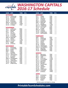 photo about Washington Capitals Schedule Printable titled 64 Simplest Washington Capitals pics within just 2018 Washington
