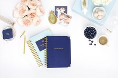 Product Photography and Styling by Shay Cochrane for Emily Ley Simplified Planner