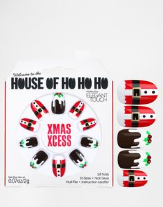 Image 1 ofHouse Of Holland Nails By Elegant Touch - Xmas Xcess