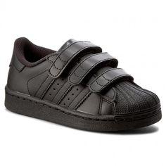Topánky adidas - Superstar Foundation Cf C B25728 Cblack Cblack Cblack  Adidas Superstar 76fad8f9c0