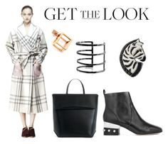 Check mate by runway2street on Polyvore featuring Anouki, Isa Tapia, Iala DÃ ez, Forest of Chintz, Artelier, Caterina Zangrando, GetTheLook, coats, fallfashion and fallstyle