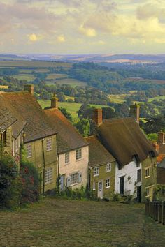 England    Gold Hill England View