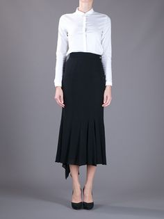 CHANEL VINTAGE - asymmetric skirt from A.N.G.E.L.O. VINTAGE PALACE