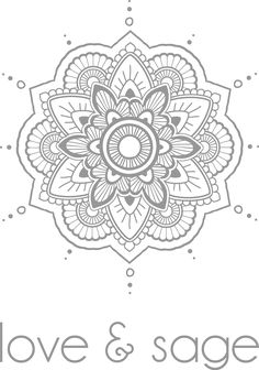 Mandala inspiration for BuJo mood tracker