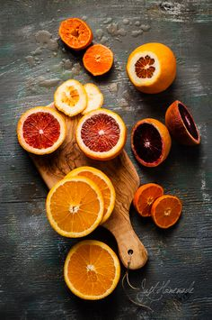 Blood Oranges and Citrus fruits for Jal Jeera - Cumin spiced cooler  @ Just Homemade