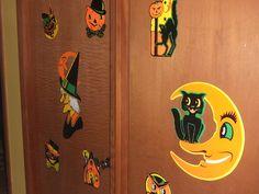 Beistle Halloween cutouts.