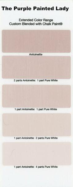 Antoinette Extended Color The Purple Painted Lady Chalk Paint Annie Sloan Chalk Paint Colors, Annie Sloan Paints, White Chalk Paint, Annie Sloan Chalk Paint Antoinette, Chalk Paint Projects, Chalk Paint Furniture, Furniture Design, Purple Painted Lady, Paint Samples