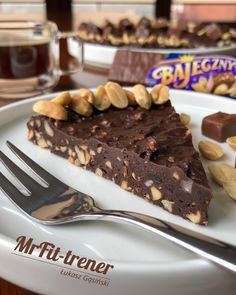 Healthy Recepies, Healthy Deserts, Healthy Sweets, Healthy Baking, Cake Recipes, Dessert Recipes, Eat Happy, Kinds Of Desserts, Light Recipes