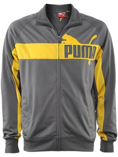 Puma Men's Holiday Tricot Jacket.  Perfect warm-up gear for the serious player