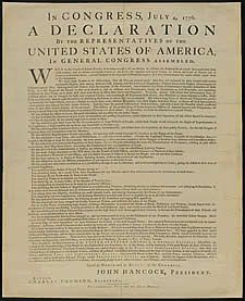 Compare and contrast the American Declaration of Independence with the French Declaration of Rights of Man and the Citizen.  Provide specific examples to back your statements.