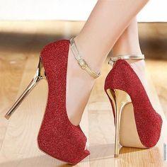 Red Formal Heels