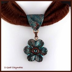 2 Good Claymates: Interchangeable Scarf Jewelry Pieces