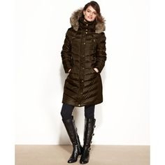 Sweatwater Mens Toggle Fleece Winter Fleece Lined Faux Fur Hooded Parkas Coats Jacket
