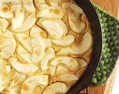 Baked Apple Omelet. For breakfast. YES!