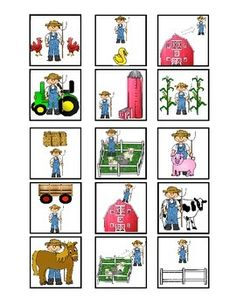 These cards fit into Cranium Cariboo game and go over spatial concepts. The spatial concepts are all farm themed and include 15 cards with the concepts: under, over, in front, behind, next to, between, in, out, on top, and off.  Larger flashcards that match are available for purchase.*Be sure to print actual size (fit will shrink the cards) Clip Art purchased from:http://www.teacherspayteachers.com/Store/Charlottes-Clips-4150