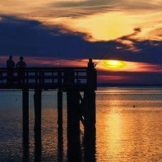 Reposting @shodyloko: Sunsets on the gulf coast. #daphne #sunsets #hdr #alabama #pier