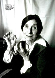 Wanda Landowska (5 July 1879 – 16 August 1959)   United States harpsichordist (born in Poland) who helped to revive modern interest in the harpsichord.  She was a Polish (later a naturalized French citizen) harpsichordist whose performances, teaching, recordings and writings played a large role in reviving the popularity of the harpsichord in the early 20th century.