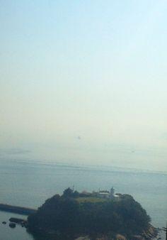 瀬戸大橋から見た眺め
