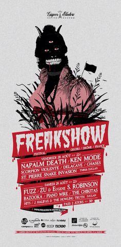 Freakshow Napalm Death - Ken Mode - Zu & Eugene - Chases - DeLaCave - Fuzz