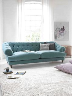 Finds: chesterfield inspired sofa