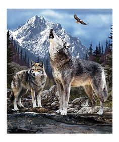 Love this Wild Wolves Throw on #zulily! #zulilyfinds