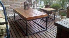 Juego De Mesa Ratona Y Banquetas De Pinotea Decor, Furniture, Outdoor Decor, Deco, Outdoor Tables, Table, Outdoor Furniture, Home Decor
