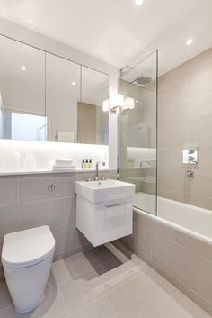 Queen's Mews, Notting Hill Tessuto Interiors is part of Bathroom - New Bathroom Ideas, Bathroom Design Small, Bathroom Layout, Bathroom Interior Design, Bathroom Inspiration, Modern Bathroom, Bathroom Toilets, Bathroom Renos, Bathroom Renovations