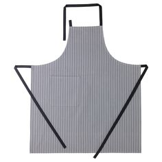 IKEA - IKEA 365+, Apron, Adjustable neck-band fits most.Practical pocket for storing small items.The colors are retained wash after wash thanks to the yarn dyed cotton.