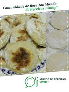 Bolo do Caco de alicehsilva. Receita Bimby<sup>®</sup> na categoria Massas lêvedas do www.mundodereceitasbimby.com.pt, A Comunidade de Receitas Bimby<sup>®</sup>. Rolls, Bread, Canning, Cake, Crafts, Food, Design, Holiday Recipes, Portuguese Recipes