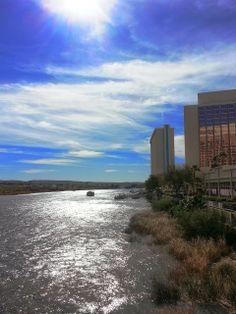 Laughlin Buzz: Riverwalk by the Aquarius Casino Resort Laughlin River, Laughlin Nevada, Bullhead City Az, River Walk, Aquarius, Places Ive Been, Las Vegas, Arizona, Trips