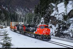 RailPictures.Net Photo: CN 3805 Canadian National Railway GE ES44AC at Yellowhead, British Columbia, Canada by Tim Stevens