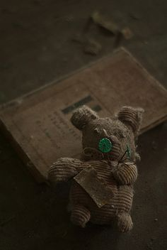 Lost   Forgotten   Abandoned   Displaced   Decayed   Neglected   Discarded   Disrepair   Pripyat Middle School Toy   jamescharlick, via Flickr