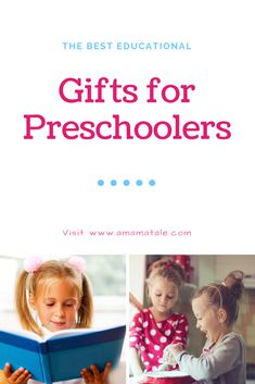The Best Educational Gifts for Preschoolers