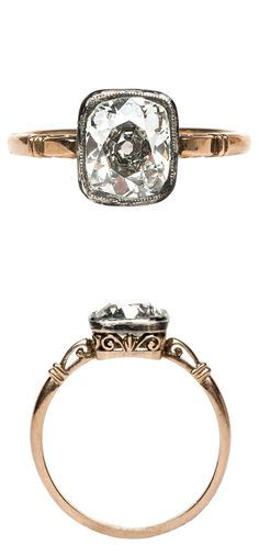 Victorian diamond ring.