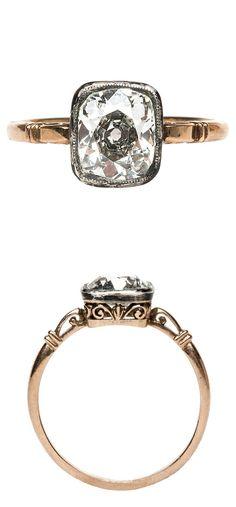 Victorian diamond ring.