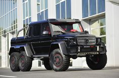 Brabus turns 2013 Mercedes 6X6 into ultimate performance beast