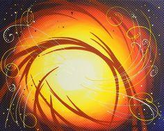 Stunning #art  for sale! 'Eye Of The Hurricane Textured' by Darren Robinson - http://fineartamerica.com/featured/eye-of-the-hurricane-textured-darren-robinson.html #paintings #fineartdecor @Darren Robinson