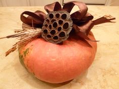 Gourd Centerpiece by  DonnaErickson.com https://www.facebook.com/pages/Donnas-Day/10150143749885235