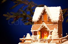 2473449-370028-picture-of-gingerbread-house-over-christmas-background.jpg (800×525)