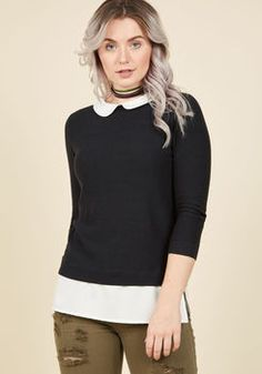 Classroom Charisma Sweater in Black
