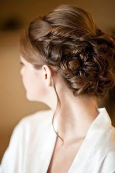10 Formal Wedding Day Bridal Hairstyles