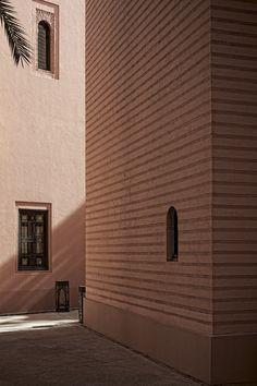 The Royal Mansour exterior #royalmansour #marrakech #medina #architecture