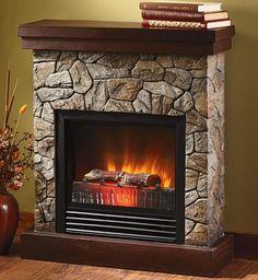 Electric Fireplace Ocean State Job Lot