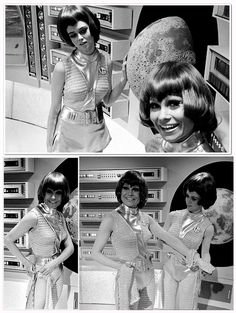Moonbase personnel on the  '60s TV show UFO