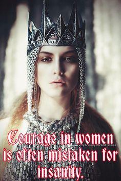 Courage in women