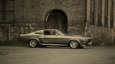 A Ford Mustang Shelby GT500. Eleanor - The best boy toy a bloke can own :-)