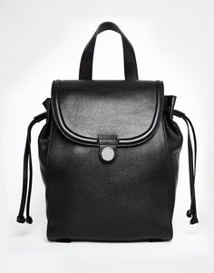 b88dd8372ada25 Whistles Leather Astor Backpack at asos.com