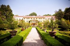 Villa Pisani in Vescovana, Italy | This is actually a bed & breakfast! | Villa Pisani Scalabin