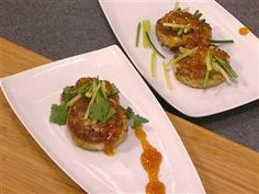 Make Curtis Stone's Asian crab cakes, banoffee pie