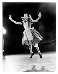 Vintage Disney Alice in Wonderland: Live Action Reference Photo A-SPEC-10 - Alice Jumping